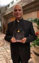 PRATHAm USA presented award to ASSET India Foundat