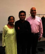 With Oscar winner Dr.A.R.Rahman