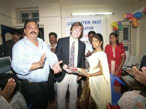 Vice Consul from the U.S. opened the center