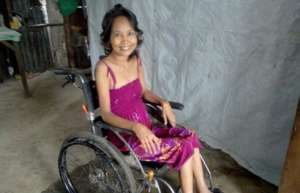 One survivor we helped provide with a wheelchair