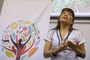 Jachuka Rete speaking at Day 1 of the Summit