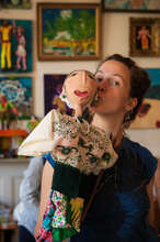 Emily and her new political puppet