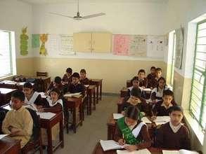 Classroom at a standard TCF school