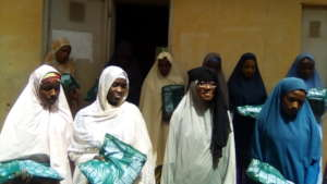 Project Leader with the women of Sabowar Kuje