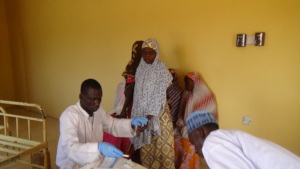 Malaria tests conducted