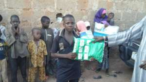 One of the children in Madobi