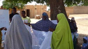 How to set up Insecticide Treated Nets