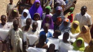 Children in Madobi