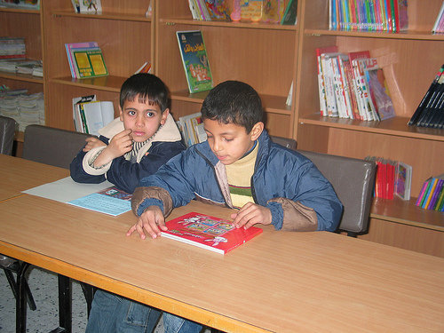 Promoting Child Literacy in Palestine