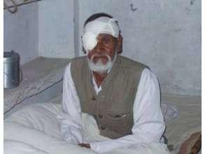 Rasheed, a school teacher after his IOL Implant