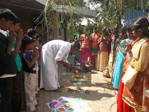 Pongal celebrations at our home