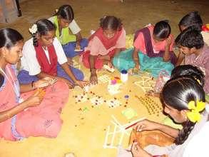 Art & Craft work taught to the children
