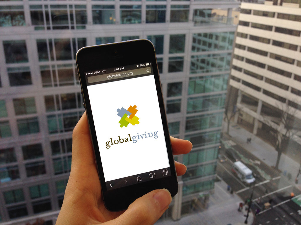 Make GlobalGiving Mobile
