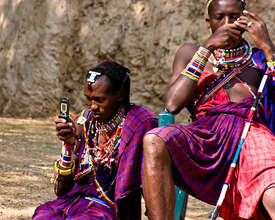 Smartphone use in Africa is growing exponentially.