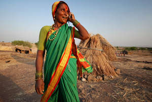 Mobile phones are essential in rural India