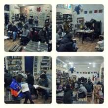 Book Presentation at Grandpa Shaqro's Bookstore