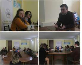 Book Discussion in Kutaisi