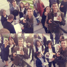 The readers with our new translation!