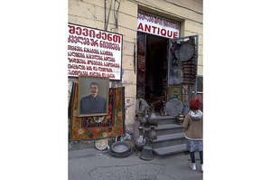 Stalin Picture for Sale at Dry Bridge Market