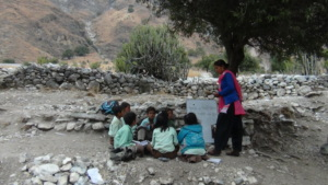 Observation of teacher in Kolti, Bajura