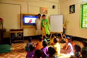 Inauguration of Madaripur School