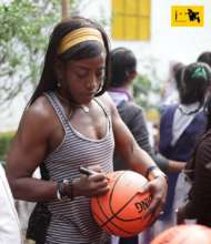 World Class WNBA Player`s visit to JAAGO