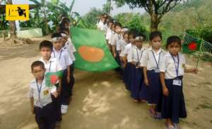 Celebrating Victory Day of Bangladesh