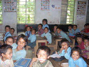 Grade 1 children at Manedanda PS