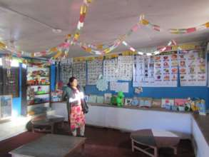 ETC-Nepal director visits pre-primary classroom