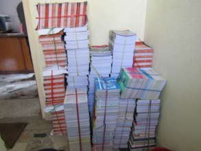 Lots of new books for the Lapilang HSS library!