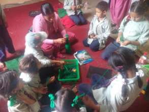 Hands-on learning at Jalpashwori School