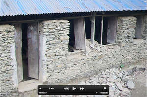School damaged by a SMALL earthquake in January