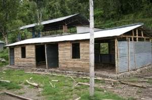 Temporary classroom, 2015