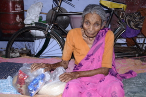 Charity in India helping old age parents donations