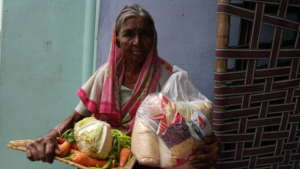 Donation to Poor family elderly person for food