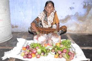 Monthly Groceries Donation to Poor Senior Citizen