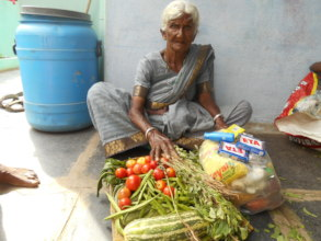 destitute woman helped by best ngo in india