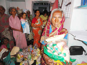 ngo in kurnool making food donation for poor