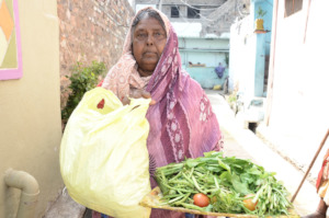 sponsoring elderly person with food donation india