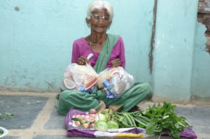 sponsorship of food provision to poor oldage woman