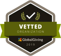 Vetted charity 2019 by globalgiving foundation
