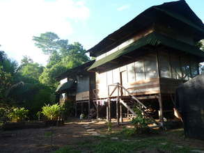 The reforestation center headquarters