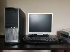 Vesela's repaired computer set