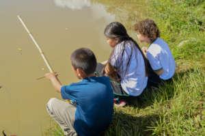 Teamwork for fishing activities