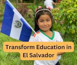 Re-imagine rural education in COVID-19 El Salvador