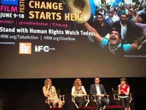 """Q&A Panel at the """"Lost in Lebanon"""" premiere in NYC"""
