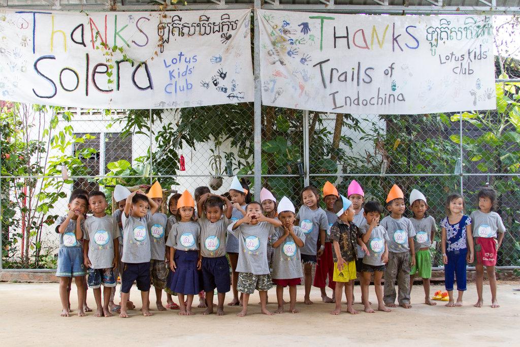 Educating 120 street-working children in Cambodia