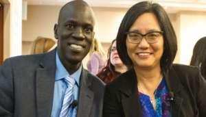 Salva Dut and Linda Sue Park
