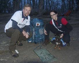 Lauren Davis & Nate Kramer on Springer Mountain