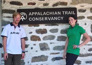 Lauren & Kramer Half-Way at Harper's Ferry